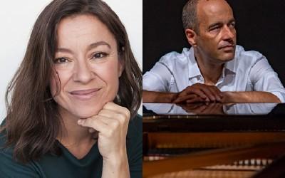 Marta Zabaleta y Miguel Borges